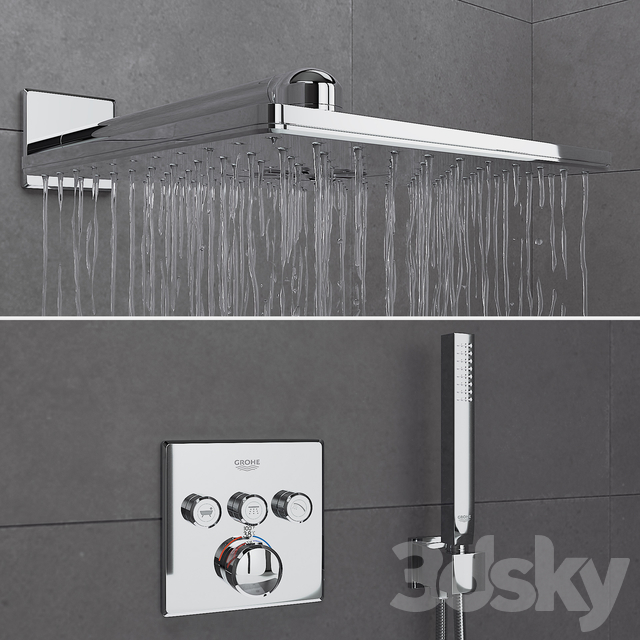 Shower Room and Grohe Set 01