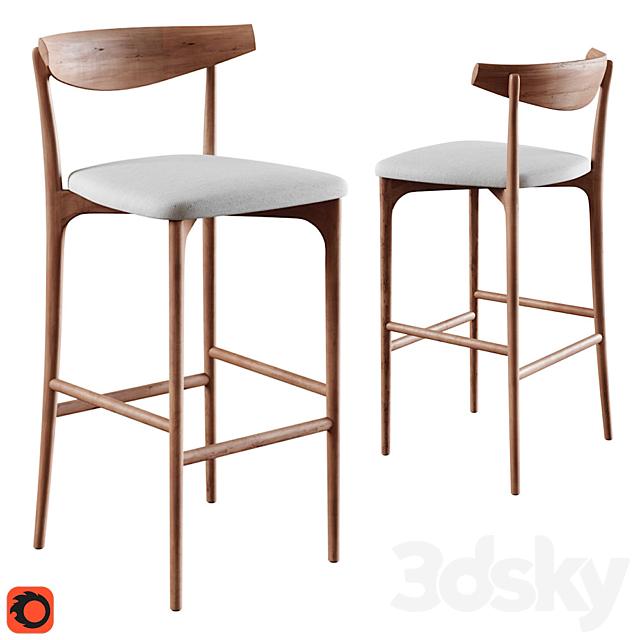 Saccaro stool palladio