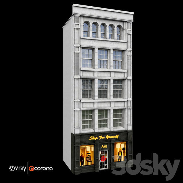 classic residential building volA2-  Luxury Store