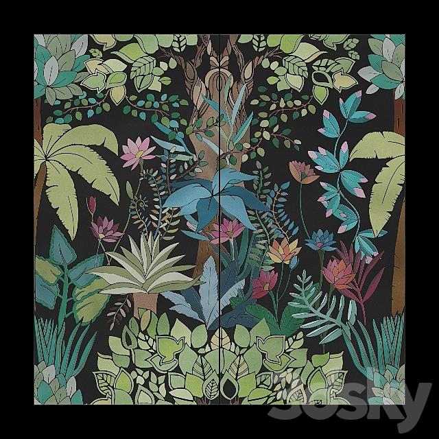 41zero42 PAPER41 PRO Flora Tile Set