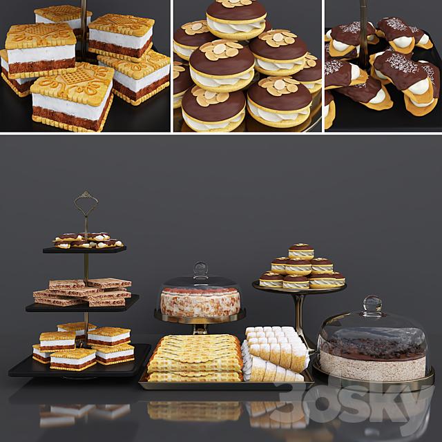 Cake bar (Espresso cheesecake & Tiramisu cake)