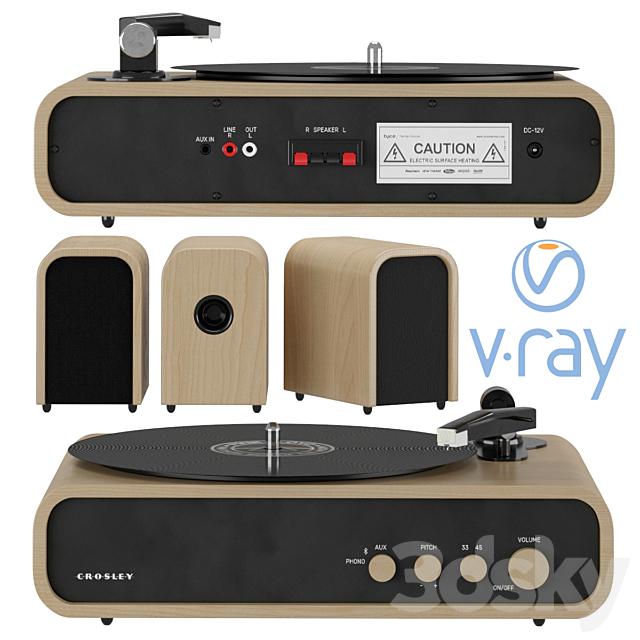 Crosley GIG Vinyl Player