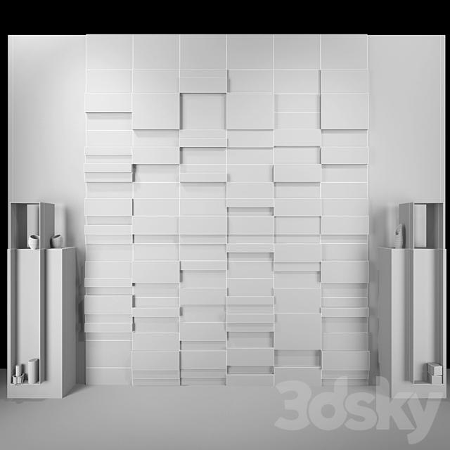Decorative wall PN28