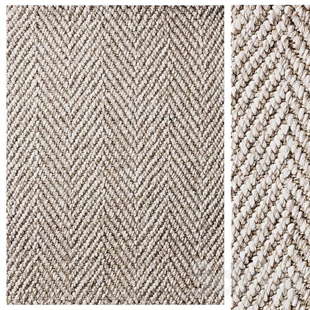 Alannis Herringbone Wool & Hemp Rug