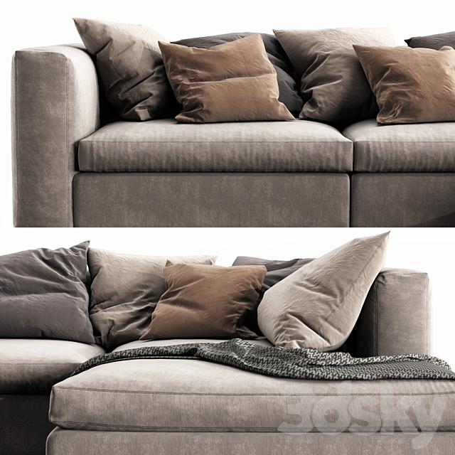 Poliform Dune Chaise Lounge