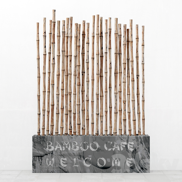 Bamboo decor fundament