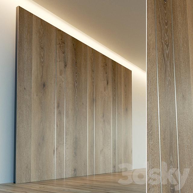Wall panel made of wood. Decorative wall. 52