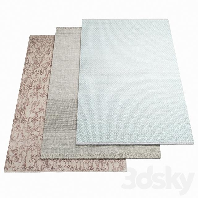 Three rugs WARLI - 26