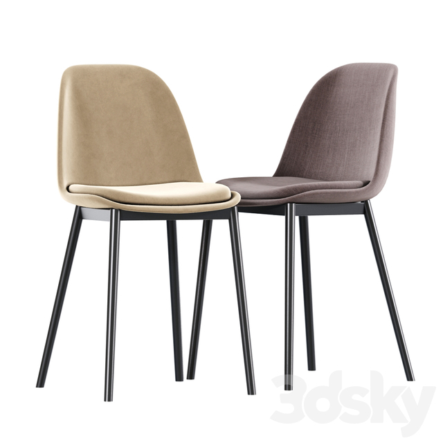 Modern Bar Stool And Dining Chair 02