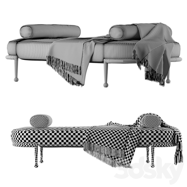 Charade Capsule Daybed by Jonathan Adler
