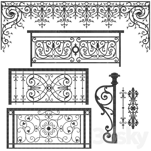 ornamental iron castings