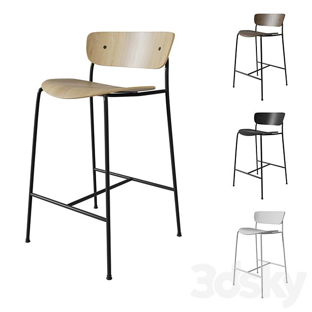 &Tradition Pavilion AV7 stool