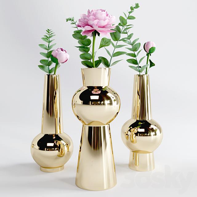 Decorative set - Peony