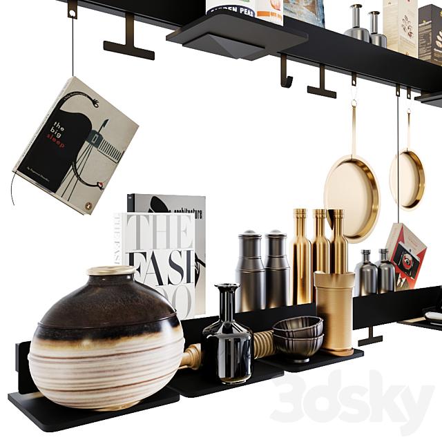 Groove Kitchen Shelf