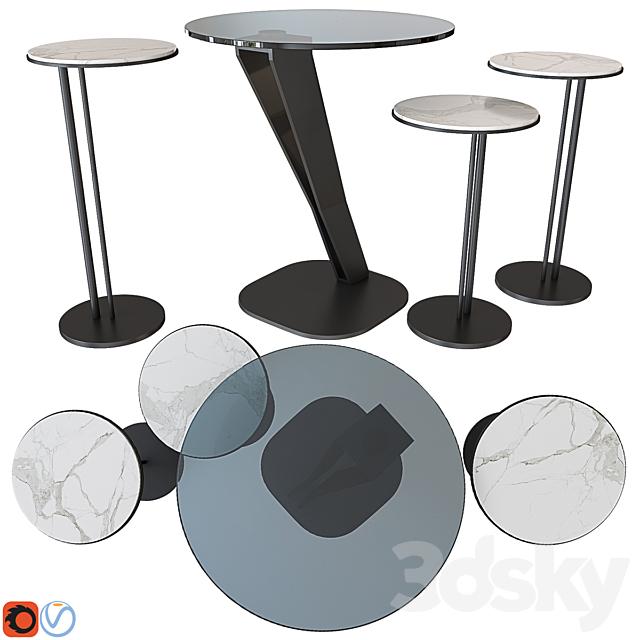 Cattelan Italia Coffee table set 08
