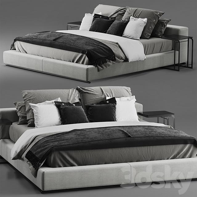 Flexform Groundpiece bed