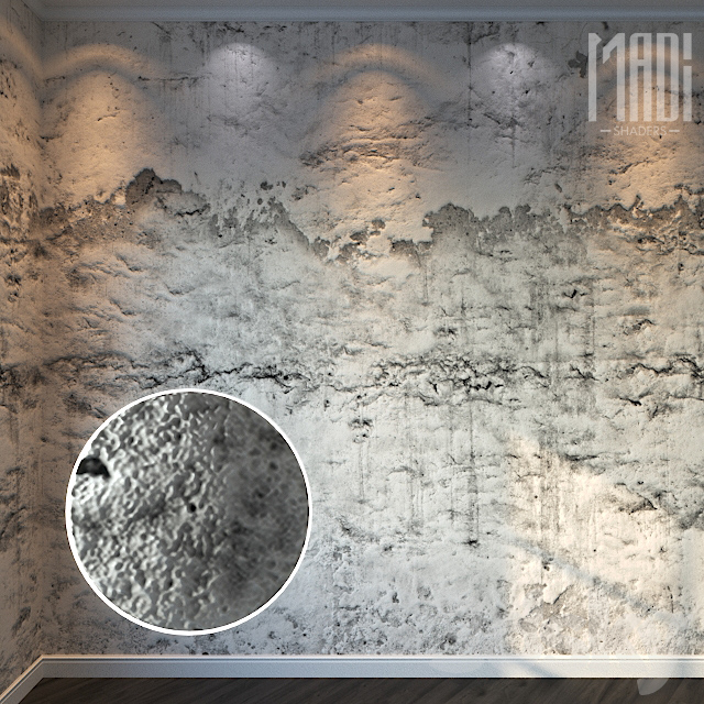 Decorative Stucco 075 - 8K Material