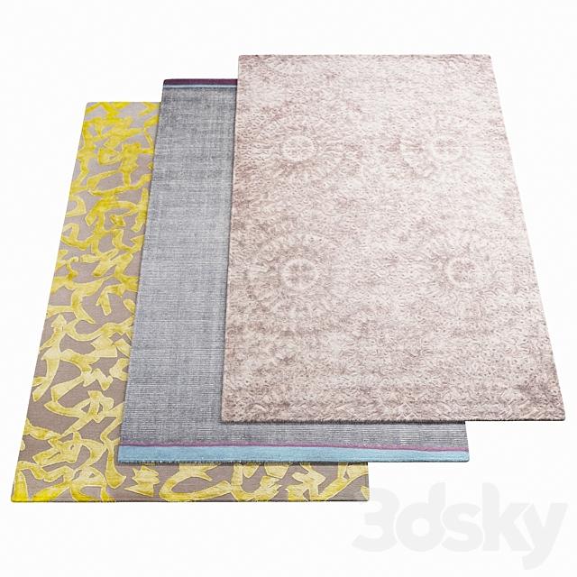 Three rugs WARLI - 31