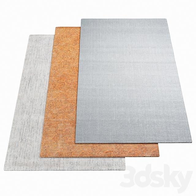Three rugs WARLI - 34