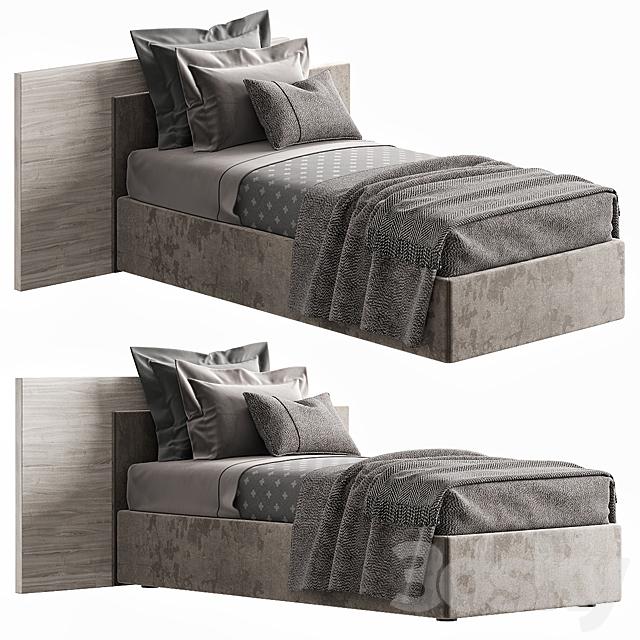 NOVAMOBILI TIME SINGLE BED