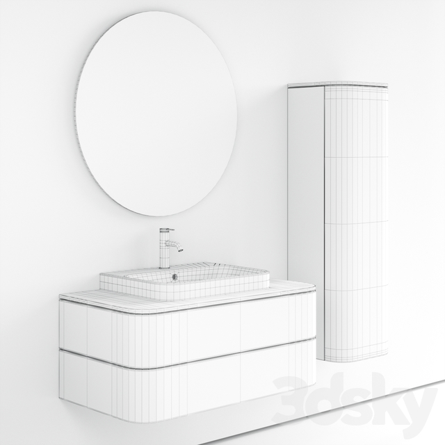 Duravit HAPPY D.2 PLUS | Single vanity unit
