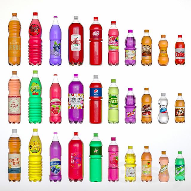 Soda bottle-set2