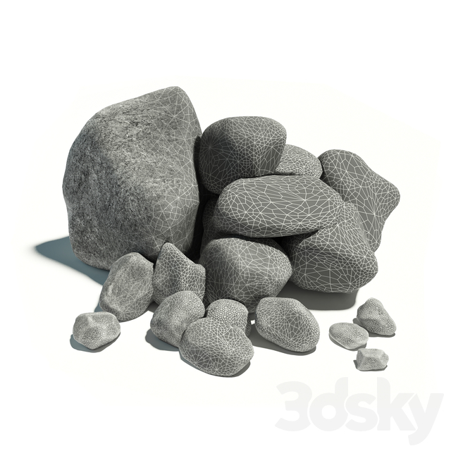 Stones, L03 (group of 10 types)