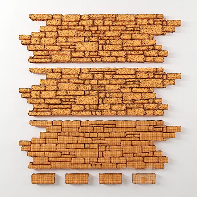 Paving brick smooth