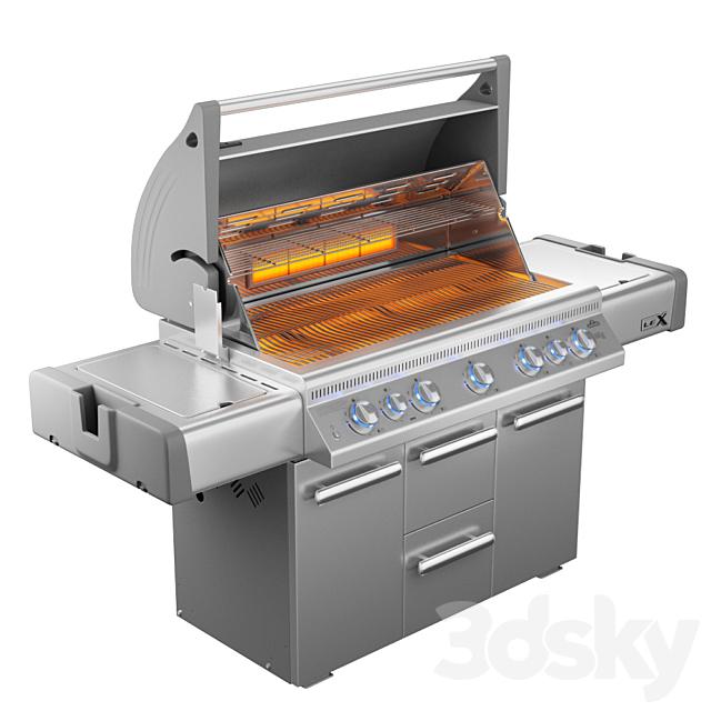 Napoleon LEX 730 RSBI gas grill BBQ