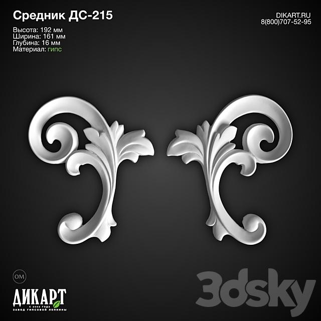 www.dikart.ru DS-215 192x161x16mm