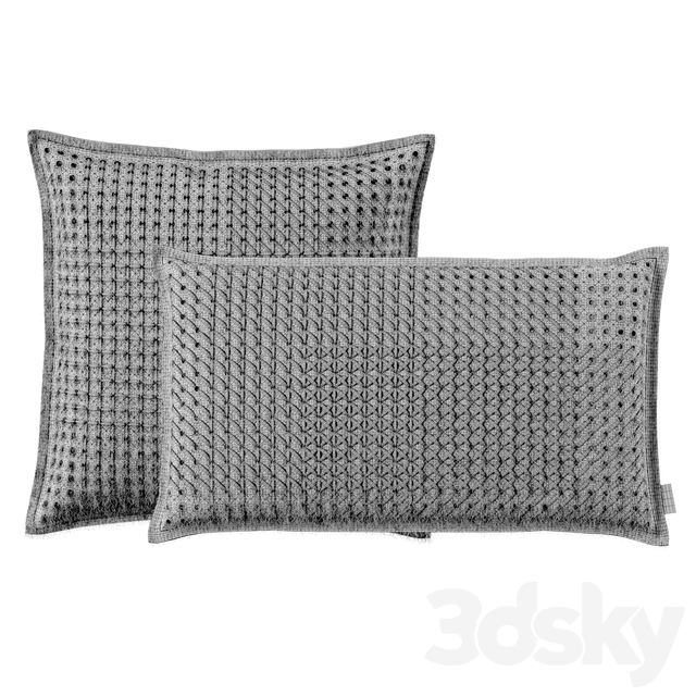 Cushion Canevas Geo  by Gan