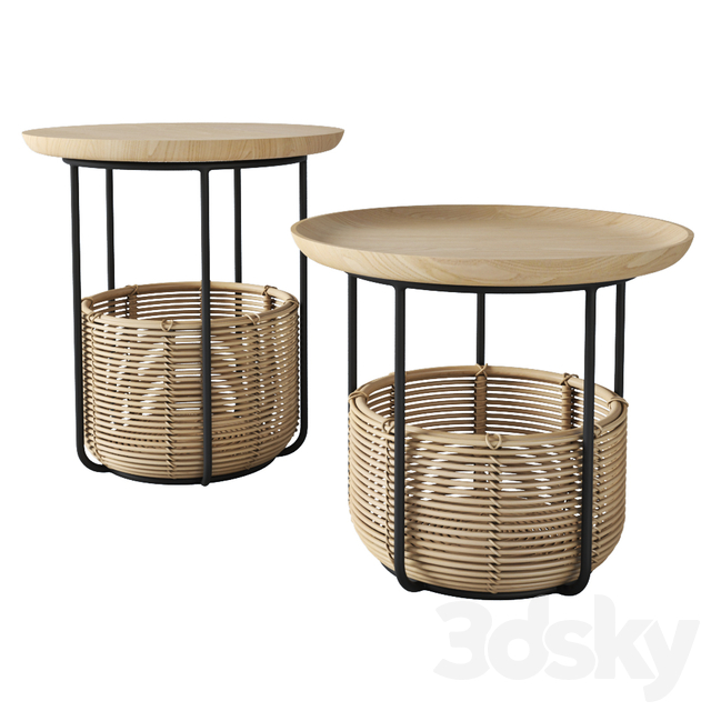 Allain Gilles Vincent Sheppard basket table