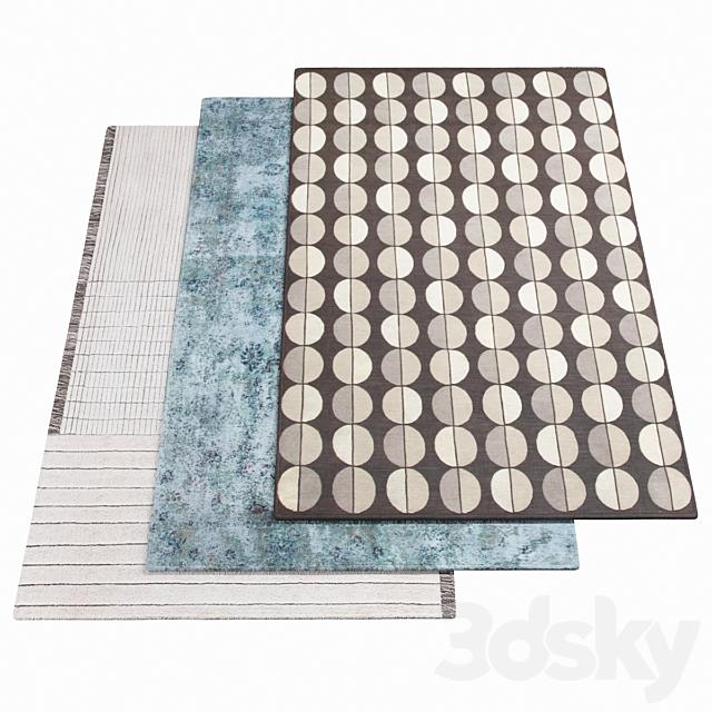 Three AMINI Carpets - 16