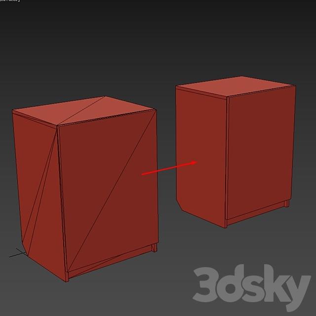 Basis furniture maker at 3ds max