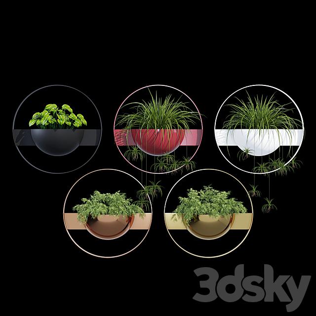 Unity wall planter