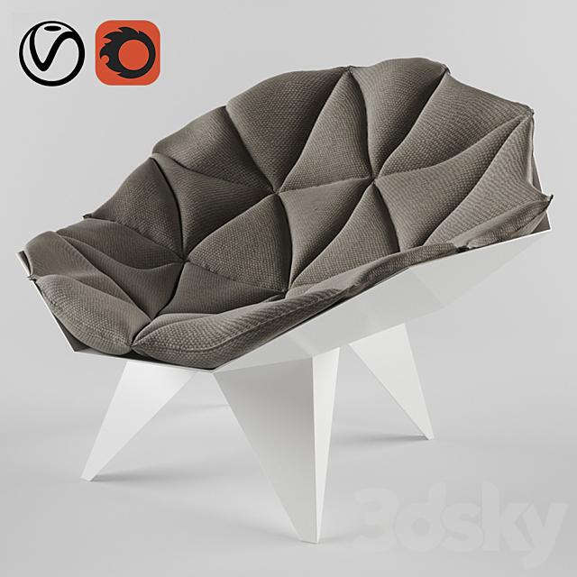 Triangular chair