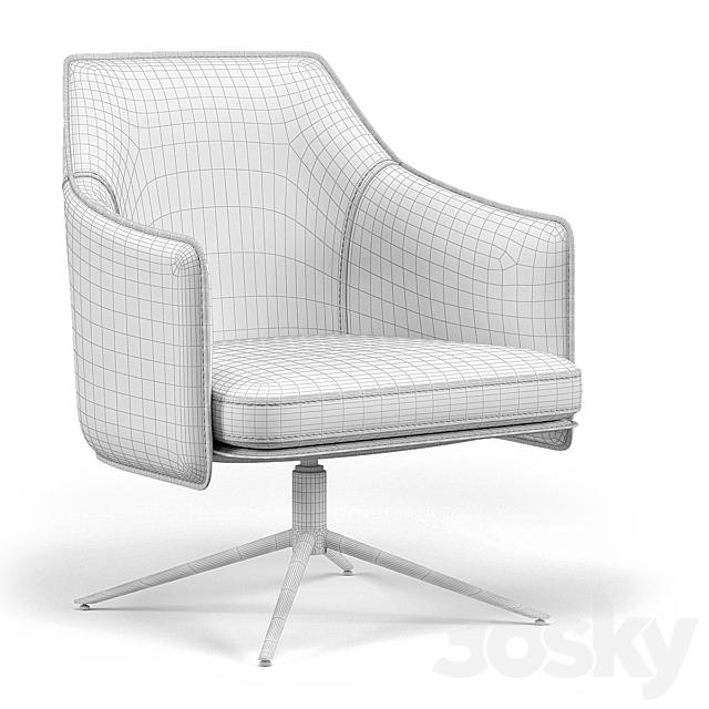 Tahoe Lounge Chair Cognac