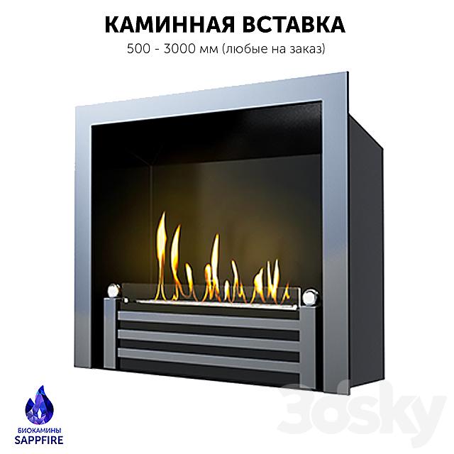 Premium fireplace insert. Biofireplace / hearth (SappFire)