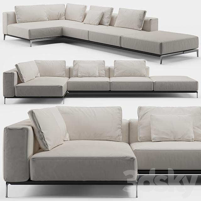 Flexform Ettore Sofa