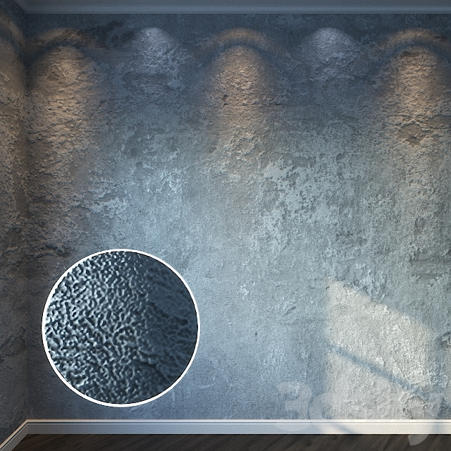 Decorative Stucco 125 - 8K Material