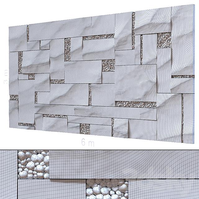 Decorative wall 250.
