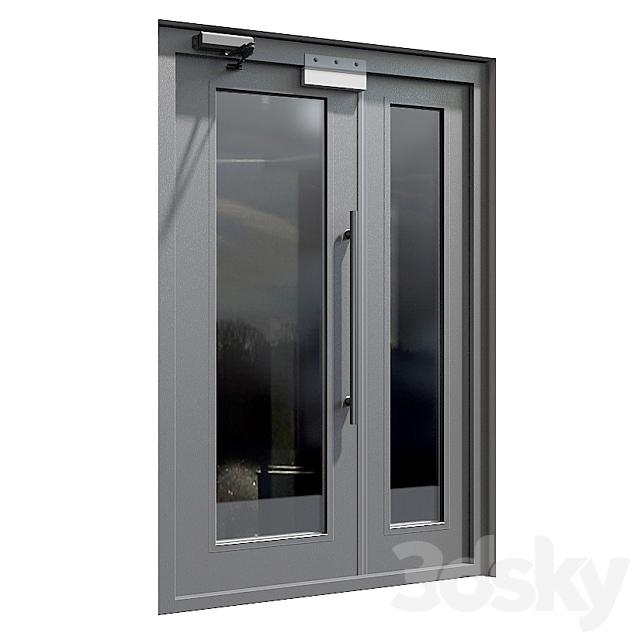 Entrance doors of the PROEM company