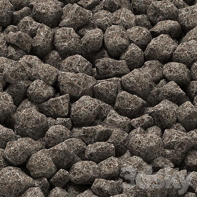 Coke coal stone