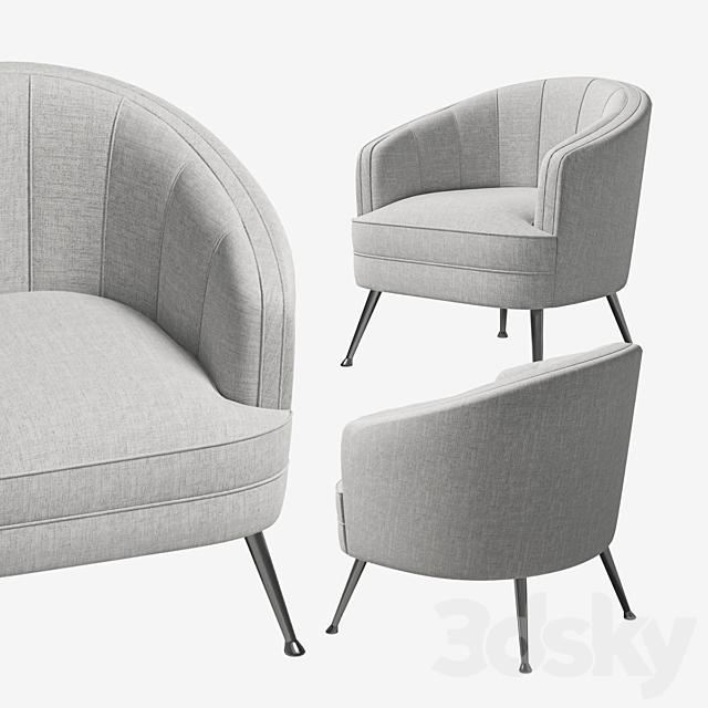 Uttermost Janie Accent Chair