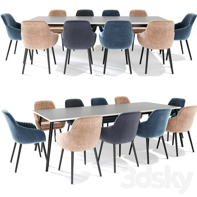 Rochelle Dining Set 02