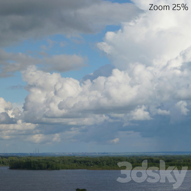 Panorama of the sky, collection No. 5