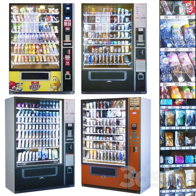 Showcase 014. Vending machine