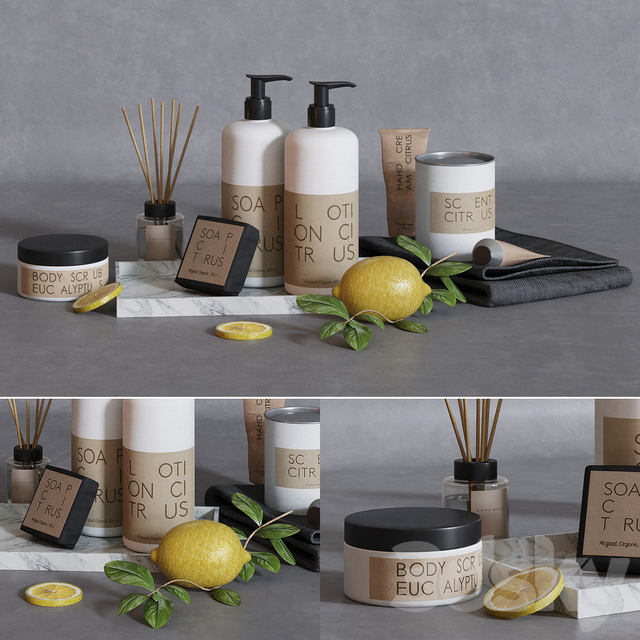 Granit skincare bath set