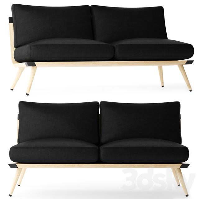 Fredericia Spine Lounge Suite Sofa