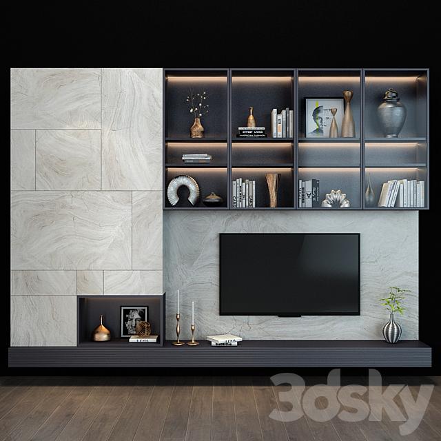 TV shelf 081